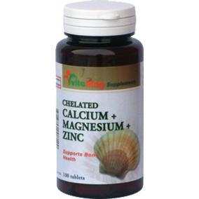 Vitaking Kalcium + Magnezium + Cink [100 db]