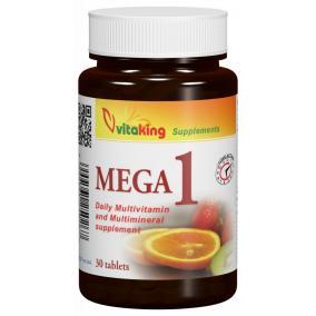 Vitaking Mega 1 multivitamin ásványi anyagokkal [30 db]