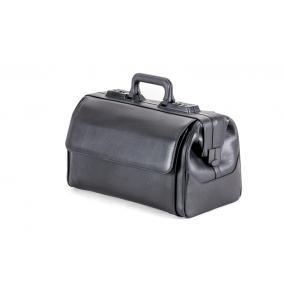 Táska Dürasol Rusticana bőr 9111 fekete