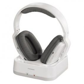 Fejhallgató vezeték nélküli, fehér - Thomson, 131960
