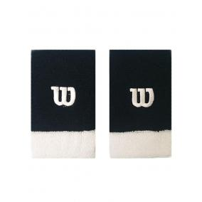Wilson Extra Wide W Wristband Bk/wh/wh [méret: NS]