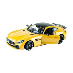 Welly Mercedes-Benz AMG GT sárga kisautó, 1:24