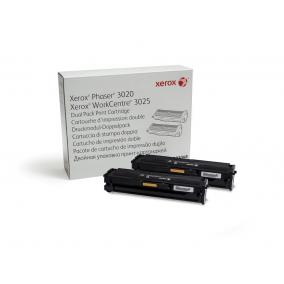 Xerox Phaser 3020, 3025 [106R03048] toner 2x1,5k DUPLA (eredeti, új)