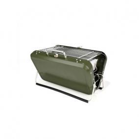 Zöld bőrönd grill