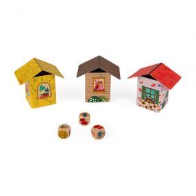 A három kismalac ügyességi játék 02702 Janod