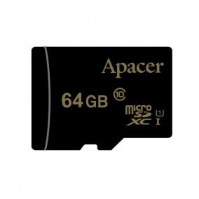 Apacer memory card Micro SDHC/SDXC 64GB Class 10 UHS-I