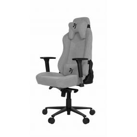 Arozzi Vernazza Soft Fabric Gaming Chair Light Grey