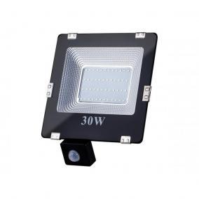 ART fényvető / reflektor LED mozgásérzékelővel 30W, SMD, IP65, AC80-265V, 4000K-fehér