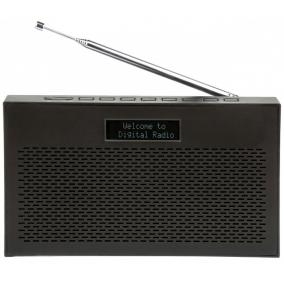 ART AZ1000 DAB+/FM rádió, LCD kijelzős, fekete