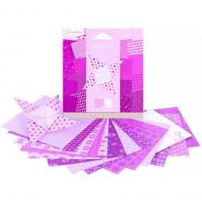 Avenue Mandarine  42683O Origami papír, 12 cm x 12 cm, Rózsaszín