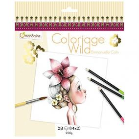Avenue Mandarine  GY065O 28 db-os színezhető album - Wild1