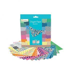 Avenue Mandarine 52501MD Origami Papír Geometric, 20 cm x 20 cm, 60 lap,, 70g