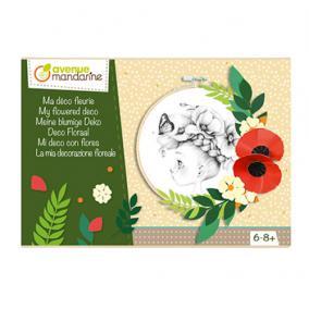 Avenue Mandarine CO169C Kreatív doboz,Virágos dekorációm