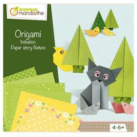 Avenue Mandarine CO176C  Origami Initiation