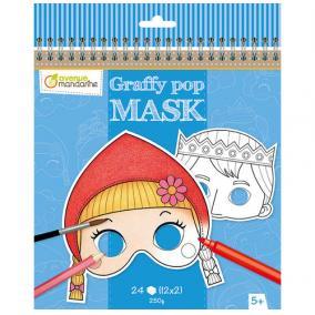 Avenue Mandarine GY091C Graffy Pop Maszk készítő, Grimm mesék