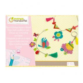 Avenue Mandarine KC081C Kreatív doboz, Varázslatos műanyag ékszerek