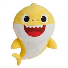 Baby Shark Cápa család zenélő plüss - Bébi cápa