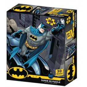 Batman Batmobil 3D puzzle, 500 darabos