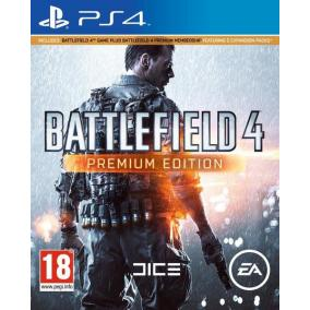 BATTLEFIELD 4 PREMIUM EDITION BUNDLE PS4 CZ/SK/HU/RO