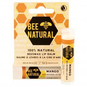 Bee natural mangó illatú méhviasz ajakbalzsam 4g