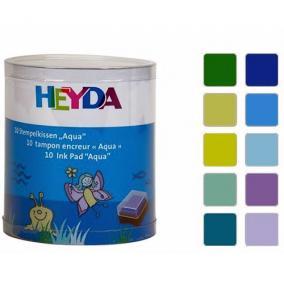 Bélyegzopárna - víz Heyda
