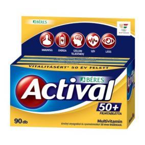 Béres actival 50+ filmtabletta [90db]