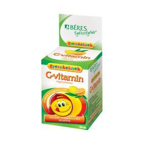 Béres c-vitamin rágótabletta gyermek [30 db]