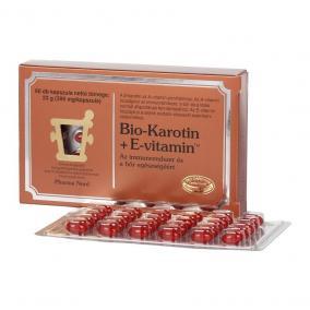 Bio-karotin+e vitamin tabletta [60 db]