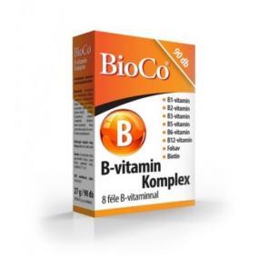 Bioco b-vitamin komplex tabletta [90 db]
