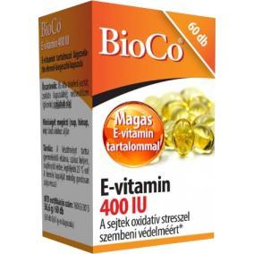 Bioco E-vitamin 400 IU kapszula [60 db]