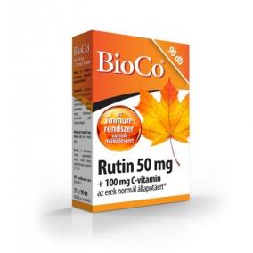 Bioco rutin+c vitamin tabletta [90 db]