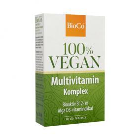 BioCo Vegan Multivitamin Komplex tabletta [30 db]