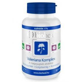 Bioheal valeriána komplex tabletta [70 db]