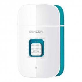 Villanyborotva, USB töltővel, Sencor SMS3014TQ, fehér/türkiz