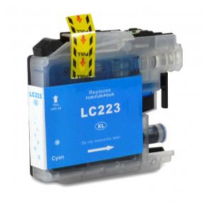 Brother LC 223 kompatibilis [C] tintapatron (ForUse)