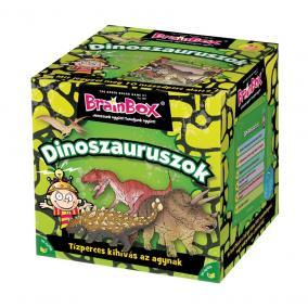 BrainBox Dinoszauruszok társasjáték