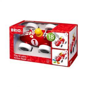 Brio 30234 Tanulj és Játssz Versenyautó