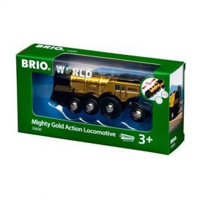 Brio 33630 Hatalmas Arany Action mozdony