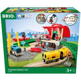Brio 33989 Központi vasútállomás szett