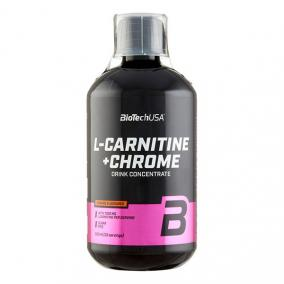 Biotech l-carnitine+chrome oldat narancs [500 ml]
