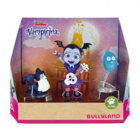 Bullyland 13124 Disney - Vampirina: Demi, Wolfie és Vámpirina játékszett