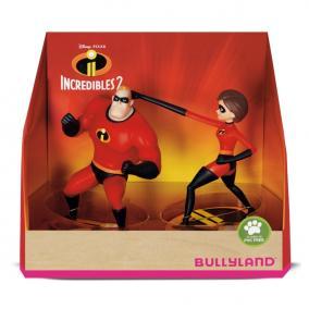 Bullyland 13288 Disney - Hihetetlen család: Mr Irdatlan és Nyúlányka játékszett