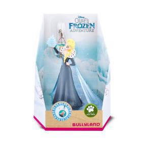 Bullyland 13430 Disney - Jégvarázs Olaf kalandjai: Elza medállal játékszett