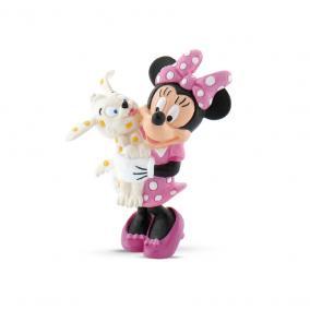 Bullyland 15329 Disney - Mickey egér játszótere: Minnie kiskutyával