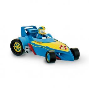 Bullyland 15460 Disney - Mickey és az autóversenyzők: Donald versenyautóban