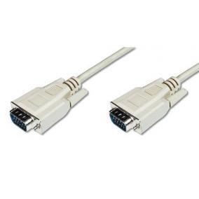 Cable VGA 1080p 60Hz FHD Type DSUB15/DSUB15 M/M grey 1,8m