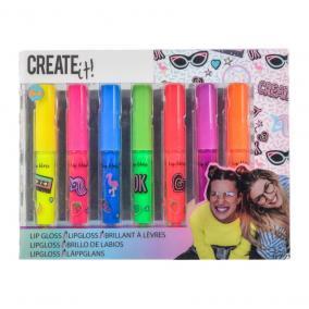 Canenco Create It! Ajakfény 7 db-os fénylő neon színekben