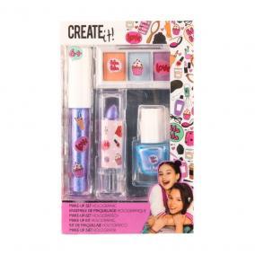 Canenco Create It! Make-Up szett holografikus színekkel