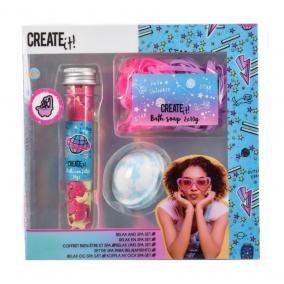 Canenco Create It! Pihentető fürdőszett, csillámló galaxis színekkel