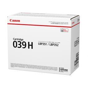 Canon CRG 039H toner [25K] (eredeti, új)